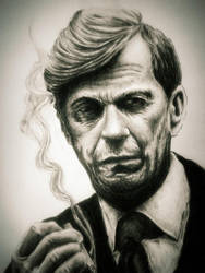 William B. Davis, X files by Marzy85