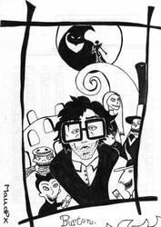 Tim Burton by Maudpx