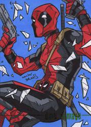 Deadpool by dino-damage