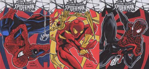 Fleer Ultra Spiderman by dino-damage
