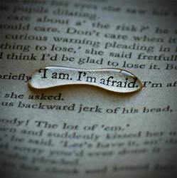 I'm afraid. by Amelia-Madeleine