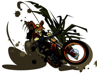 vector rider by brostaLobo