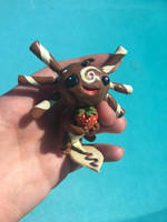 Cryptid-Creations Whole Lotl' Chocolate Sculpture  by AClockworkKitten