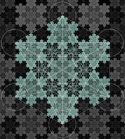 Metatron Cube by BrendanT01