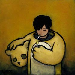 Self Portrait - Smoke Break by lukechueh
