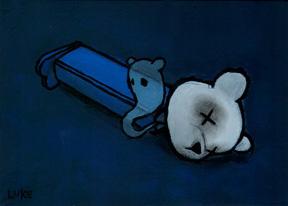 Dead Pez - Blue by lukechueh