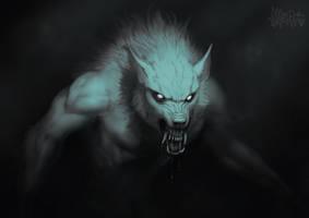 Horrortober: Werewolf by AltaGrin