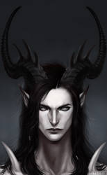 Redraw: A Demon's Mug by AltaGrin