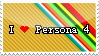 I love Persona 4 stamp by Kemaru