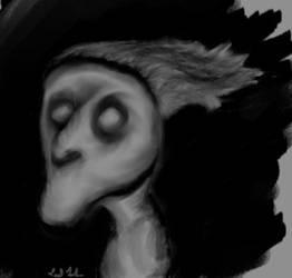 Inner Demon Self Portrait by nizo