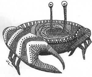 Crazy Crab by nizo
