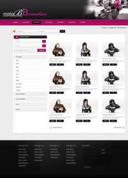 web interface by Unsu