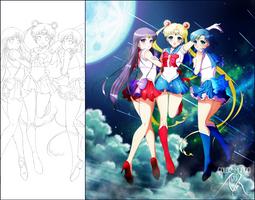 Sailor Senshi [Color Manga] by Alix89