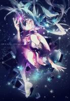 LargeArt Star Miku by Alix89