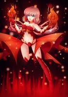 Yuuhiko FireGirl [OC] by Alix89