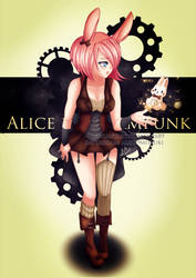 Alice in SteamPunk by Alix89