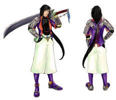 DT: Kensei Yuuga by Samletbird