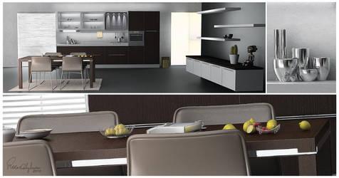 kitchen by meezami