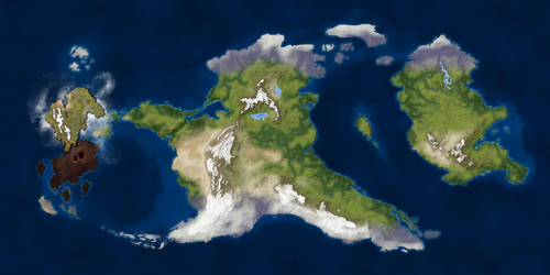 Elysion: Map by Naeddyr