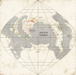 The Western Hemisphere of the World WIP* by Naeddyr