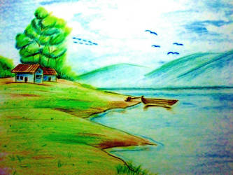 Landscape drawing by leonarul081095