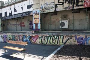 Vienna Graffiti - Loves Vienna by LexartPhotos