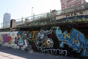 Vienna Graffiti - one by LexartPhotos