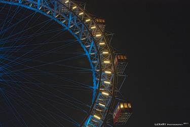 Riesenrad Vienna Cut by LexartPhotos
