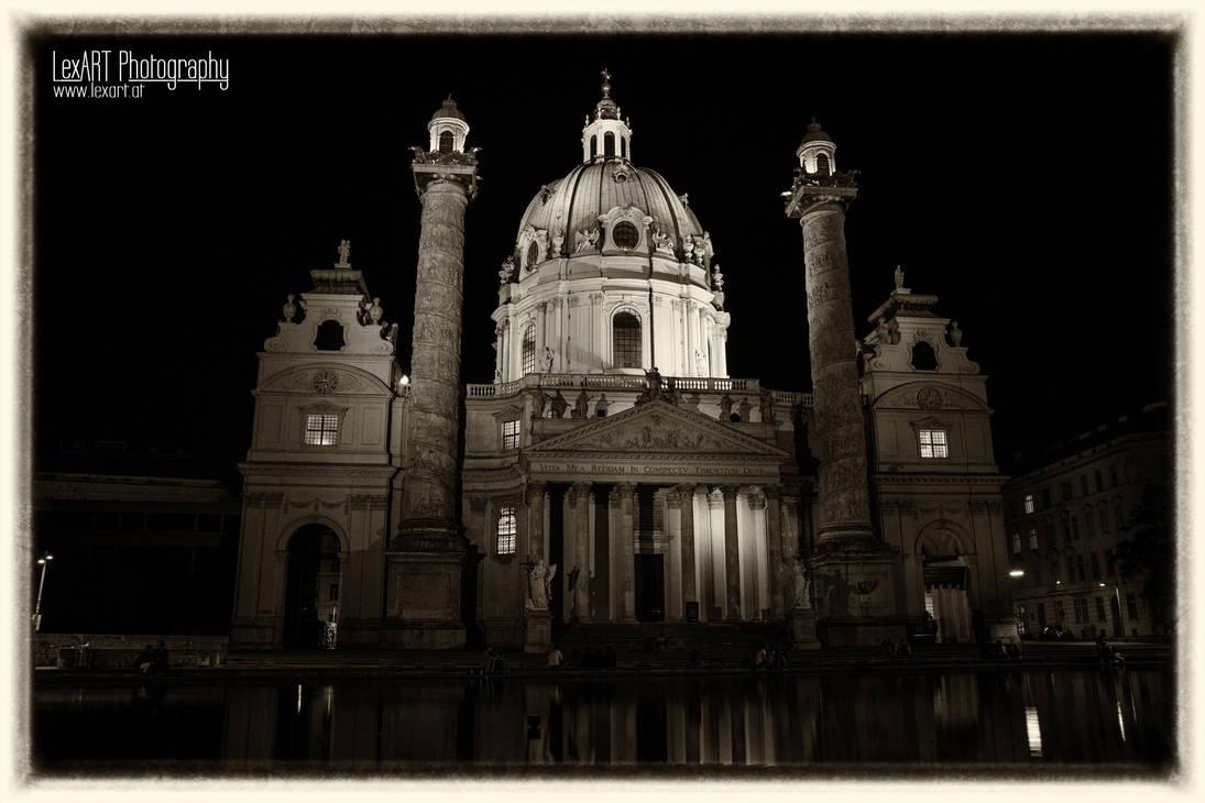Karlskirche #2 by LexartPhotos