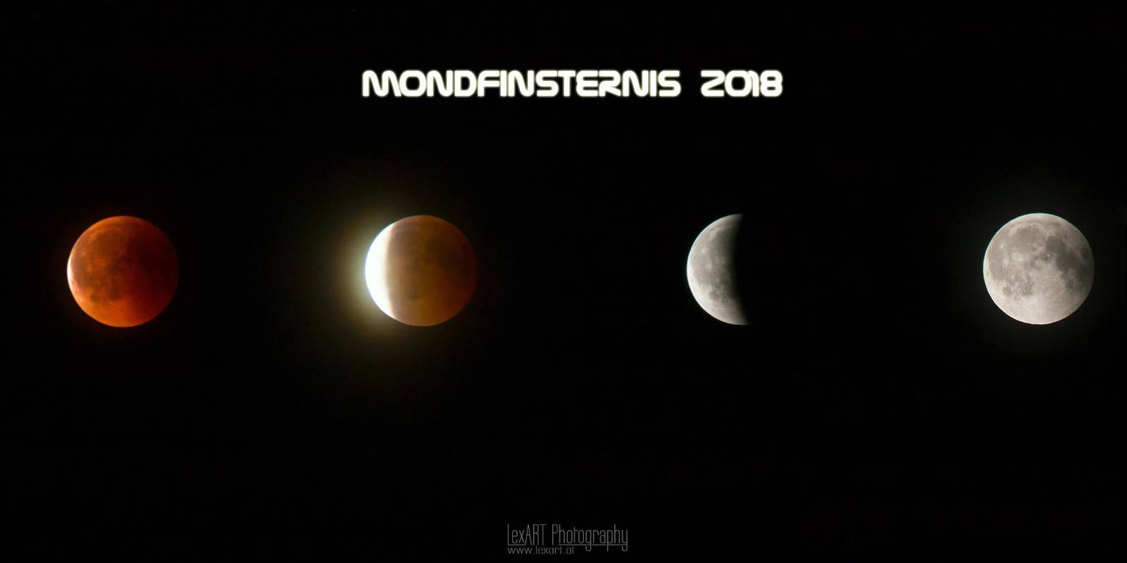 Lunar Eclipse 2018 by LexartPhotos
