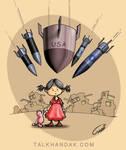 For the Palestinian children by TALKHANDAK
