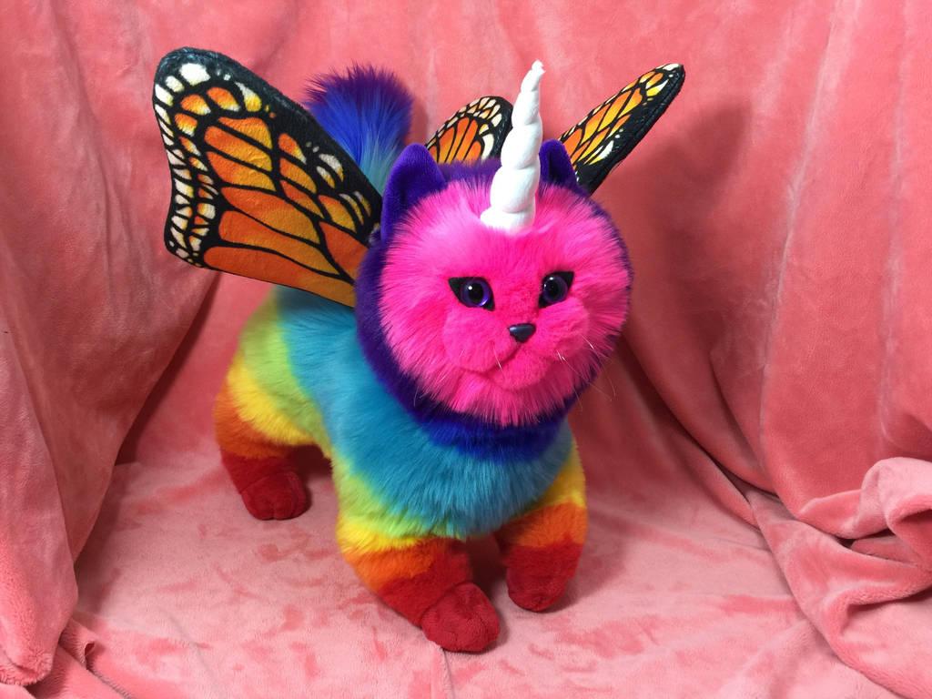 Rainbow Unicorn Butterfly Kitten 2 0 By Judifur On Deviantart