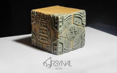 Dwemer Puzzle Cube in progress by ArsynalProps