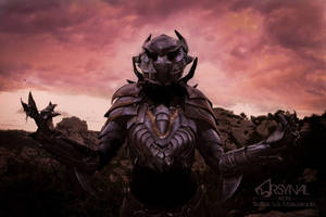 Daedric armor from Elder Scrolls Online by ArsynalProps