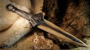 Dragonbone dagger-Skyrim (for sale) by ArsynalProps