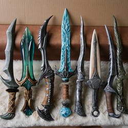 Skyrim Daggers - For sale by ArsynalProps