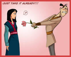 Mulan,Ling: Flower by crumblygumbly