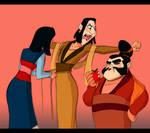 Mulan: Dress up by crumblygumbly