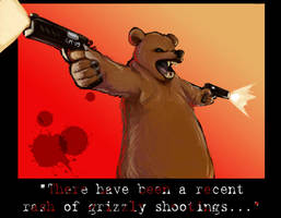 GRISLY SHOOTINGS by crumblygumbly