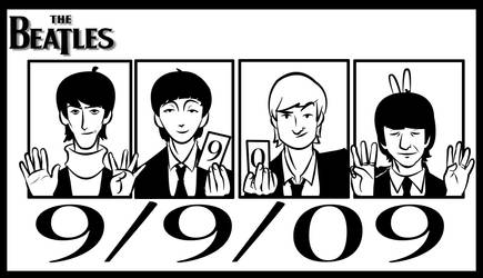 Beatles 9-9-09 by crumblygumbly