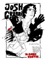 Josh Groban, Zombie Hunter by crumblygumbly
