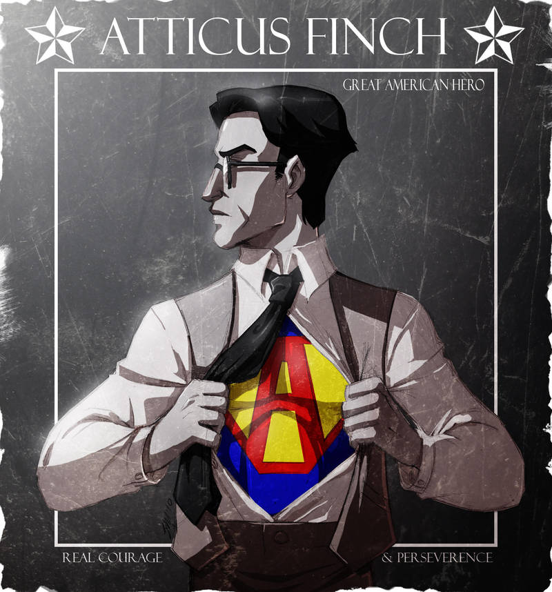 Atticus Finch by crumblygumbly