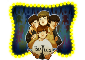 Beatlebook: Cover Image by crumblygumbly