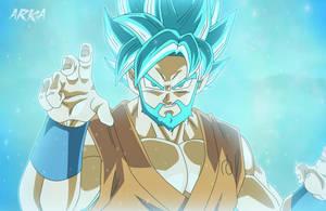 Goku SSGSS Beard by CFFC2010