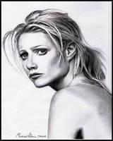 Gwyneth Paltrow by MikeRobinsArt