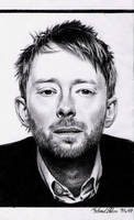 Thom Yorke by MikeRobinsArt