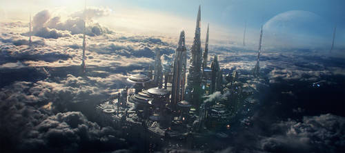 Cloud City by menyhei