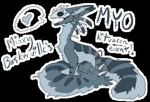 kitvoren MYO event CLOSED by MinxyBaskerville