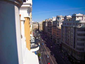 Madrid's view of the city (2010) by El-Rey-Chipinque