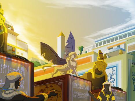 THAT'S the Theban Sphinx?? by El-Rey-Chipinque